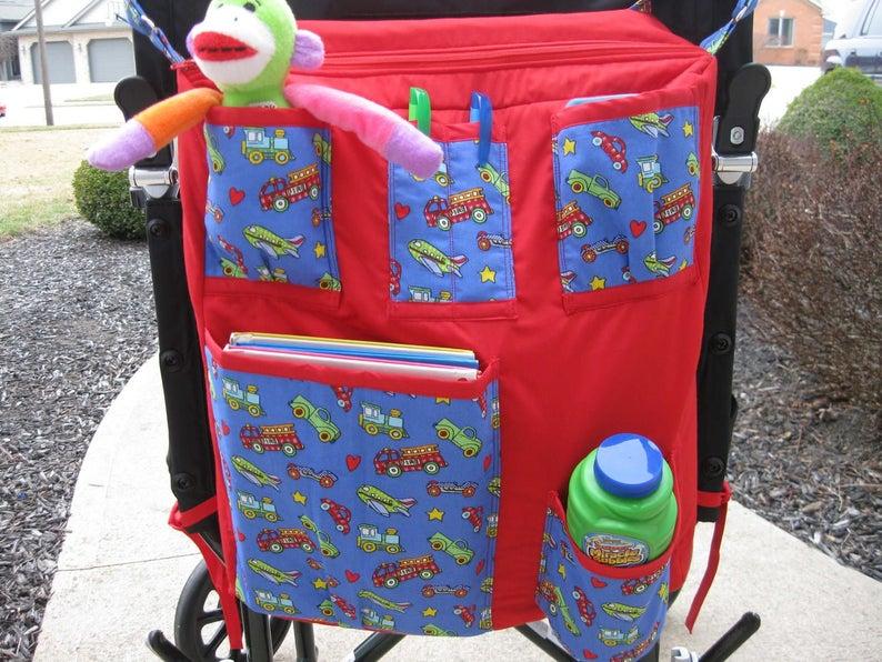Wheelchair bag-sm-red