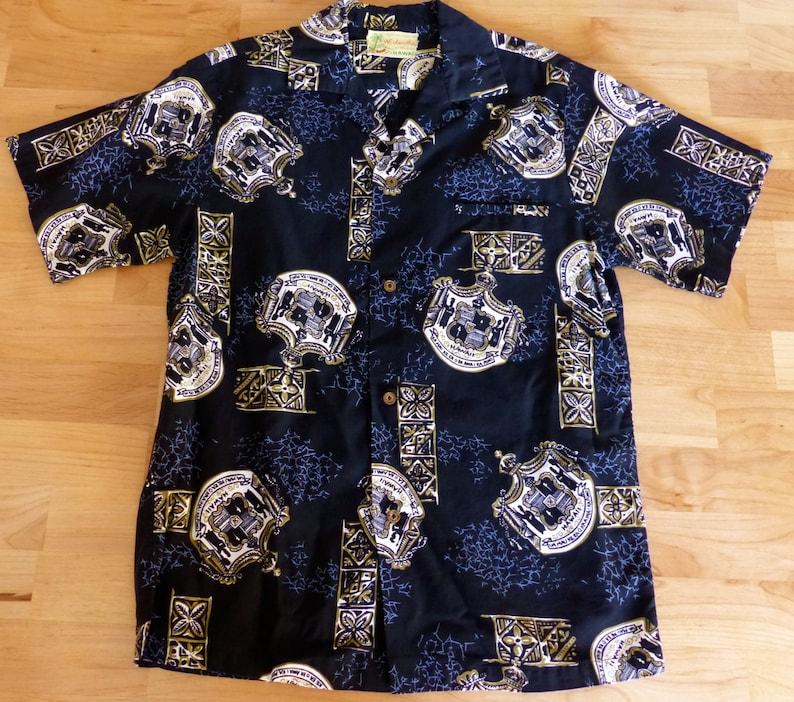 6db80e91 Vintage 70's Hawaiian Woolworths at Waikiki Shirt Med | Etsy