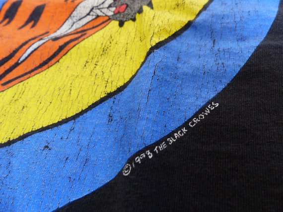 The Black Crowes Tour shirt XL 1993 Chris Robinso… - image 3