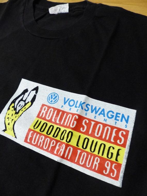 1995 Rolling Stone Voodoo Lounge European  Promo T