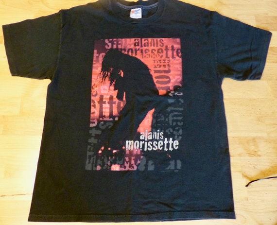 1996 Alanis Morissette T shirt Jagged Little Pill