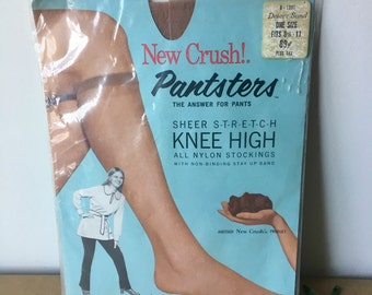 9fbf24a2d 1970s  New Old Item  Unopened Pantyhose - Vintage Stockings - Nude Beige -  Women s Accessories Clothes