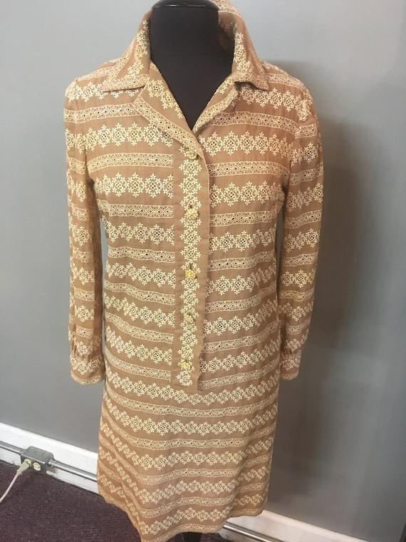 SD-1970's Carlye Eyelet Day Dress