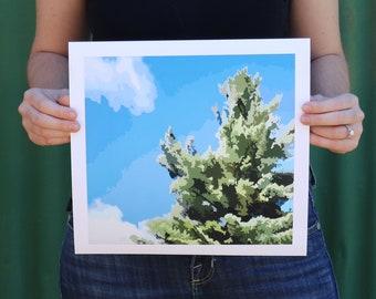 Avro Arrow White Pine // Print, Giclée Print, Limited Edition, Muskoka, Parry Sound