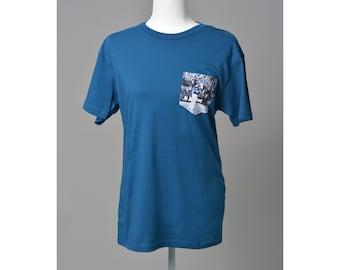 Unisex Crew Neck Jose Bautista Bat Flip Pocket T-shirt / Tee