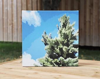 Avro Arrow White Pine // Print, Canvas Print, Muskoka, Parry Sound