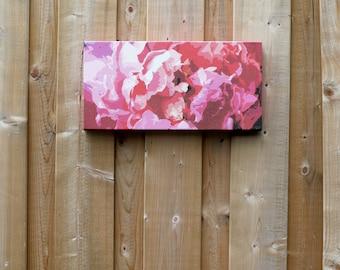 Rose // Print, Canvas Print, Unique Floral Decor