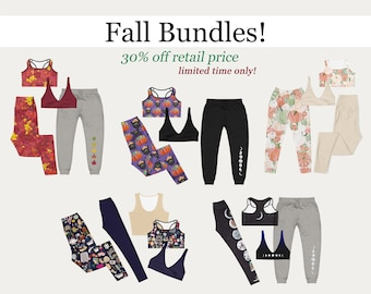 Fall Bundles! Seasonal outfit packs at 30% off retail price :) Limited time only!