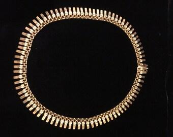 Necklace Choker 18k gold ,