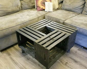 Gentil Popular Items For Crate Coffee Table