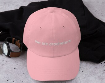 Dad hat - We Are Crocheters