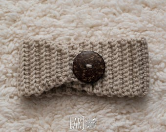 Satin-Lined Ear Warmer // Protective Winter Headband for Natural Hair Girls