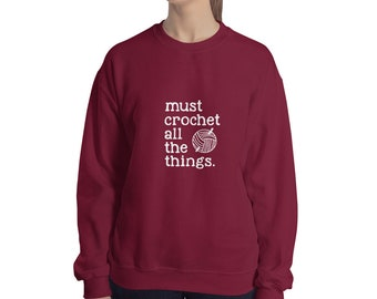 Sweatshirt - Must Crochet All the Things