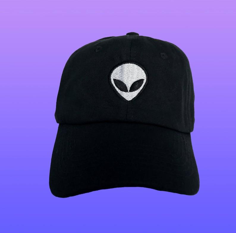 70fc8a60d24f7 Alien Baseball Cap Tumblr Alien Dad Hat Alien Dad Cap