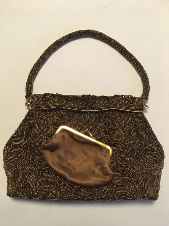 Stunning '50s beaded handbag