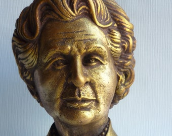 Prime Ministers of Great Britain Margaret Thatcher Iron Lady bust