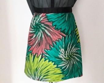 wax cotton skirt