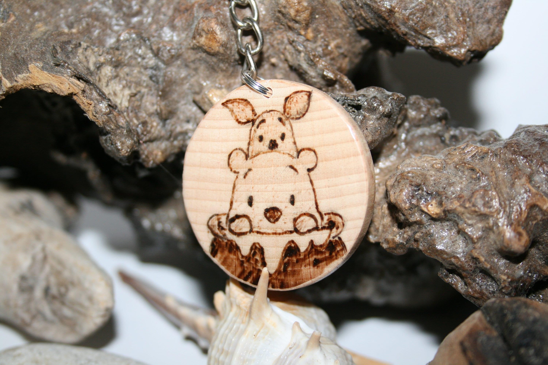 Back Pack Charm Character Keychain,Keychain Personalised Gift Winnie the Poo Keychain Winnie the Poo Keychain