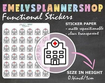 Doctor Planner Sticker - Agenda Stickers 557