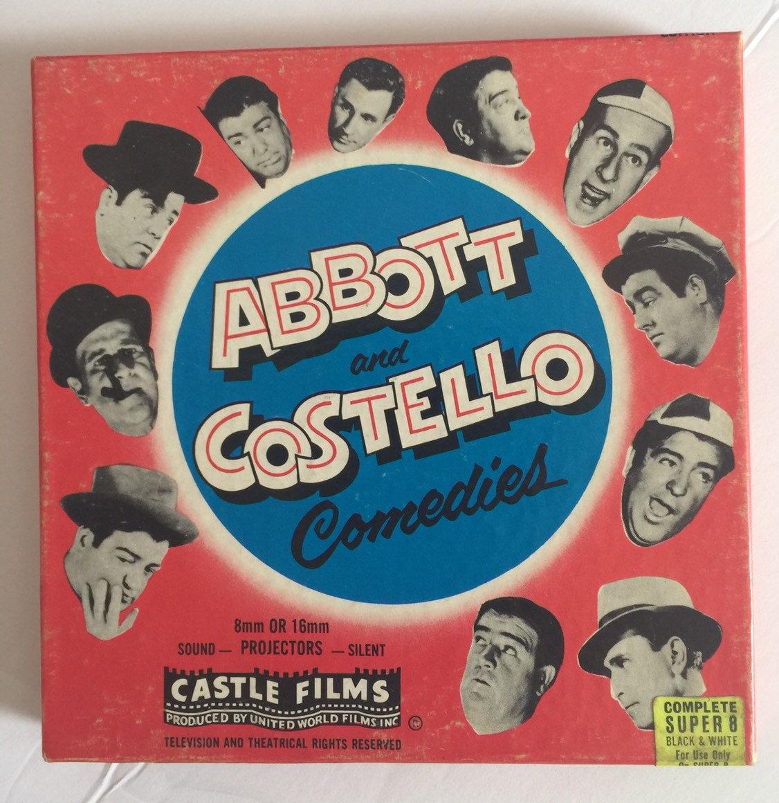 Super 8 Film Abbott Costello Comedy Castle Films Free