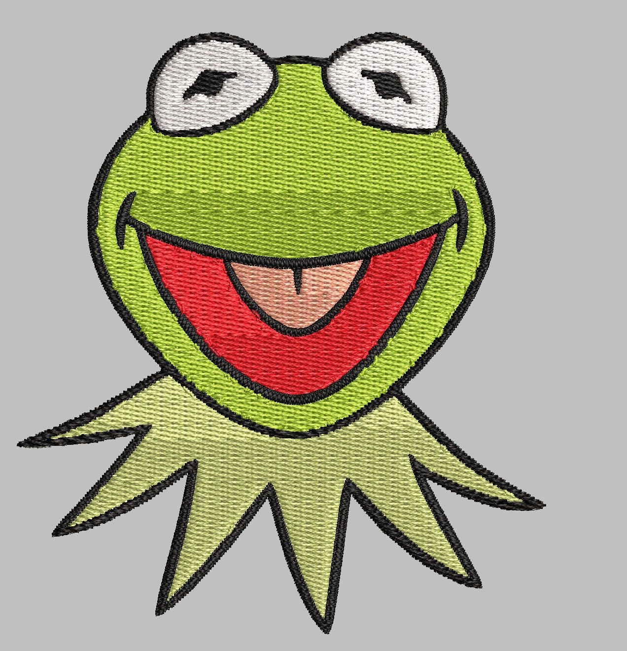 Kermit Christmas Embroidery | www.topsimages.com