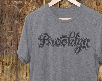 bf1214a4 Brooklyn T Shirt - Vintage T-Shirts - Brooklyn T-Shirt - Vintage Graphic Tee  -Brooklyn Shirts - Brooklyn Unisex Tees for men and women
