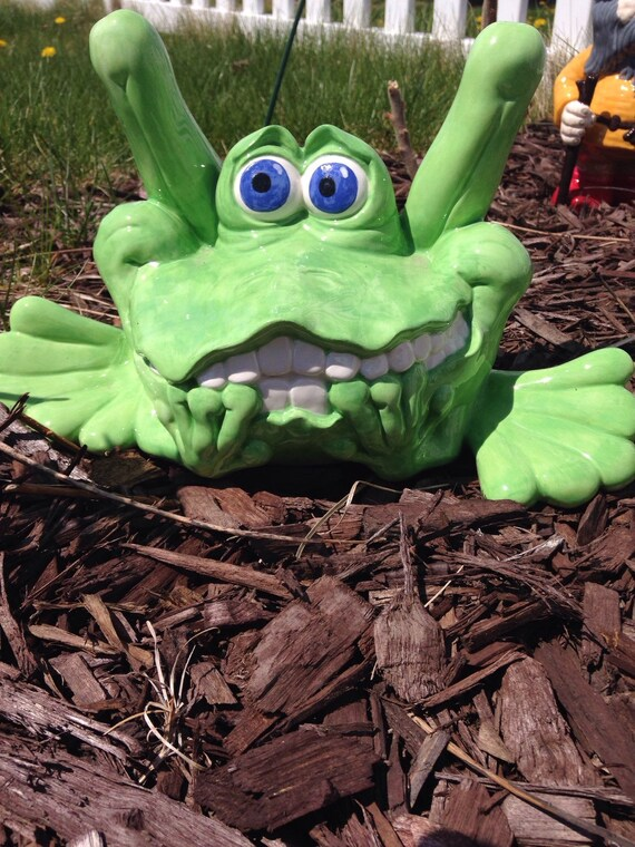 The Huge Garden Frog Paint Your Own Frog-Mazing Ceramic Keepsake