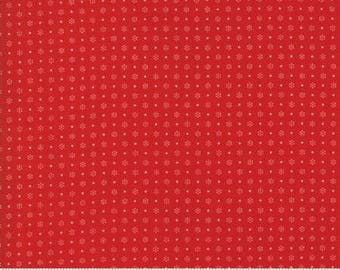 Merry Go Round Red 21726 14 - Moda Fabrics 100% Cotton Quilting Fabric by American Jane