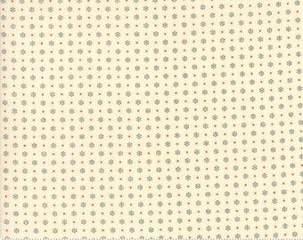 Merry Go Round Ivory Black 21726 21 - Moda Fabrics 100% Cotton Quilting Fabric by American Jane