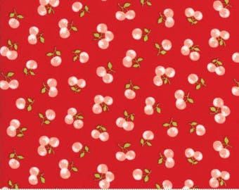 The Good Life Red 55158 11 - Moda Fabrics 100% Cotton Quilting Fabric by Bonnie & Camille