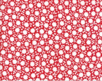 The Good Life Red 55156 11 - Moda Fabrics 100% Cotton Quilting Fabric by Bonnie & Camille