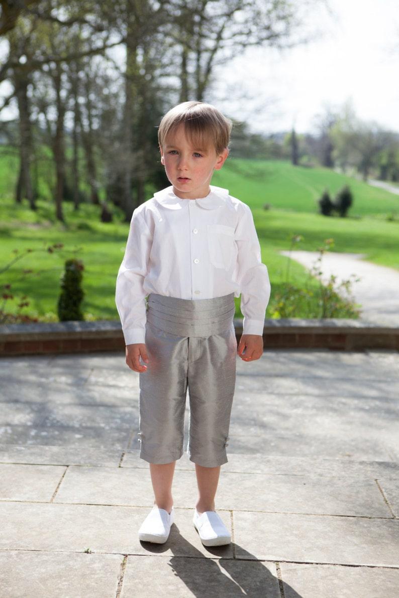 Silk Long George Page Boy Shorts image 0