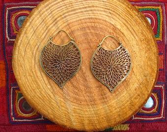 Earrings - Peacock