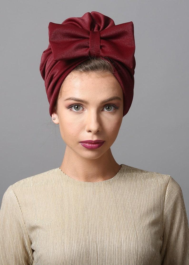 Bonnet femme headcovering turban turban headband head  14be7ca3b68f