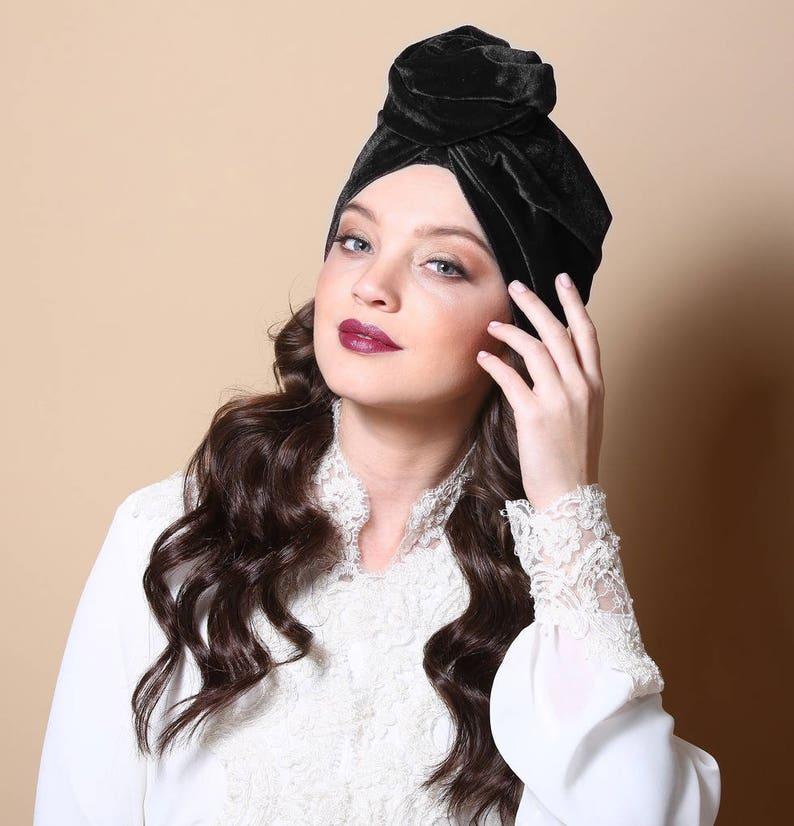 Ladies turban hat hijab chemo caps foulard bonnet turban  b108c4df8fd3