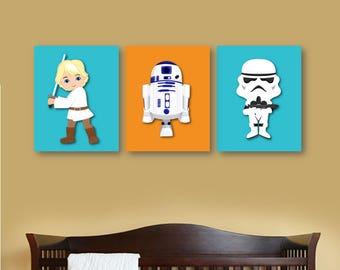 star wars nursery etsy