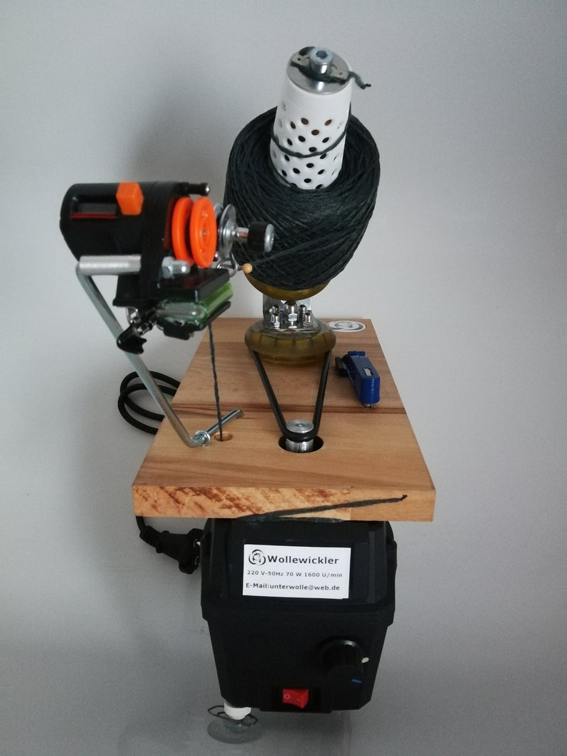 Standard Yarn Ball Winder With Electric Rotation Counter