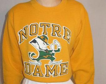 1b1e83e34 Vintage Notre Dame sweatshirt