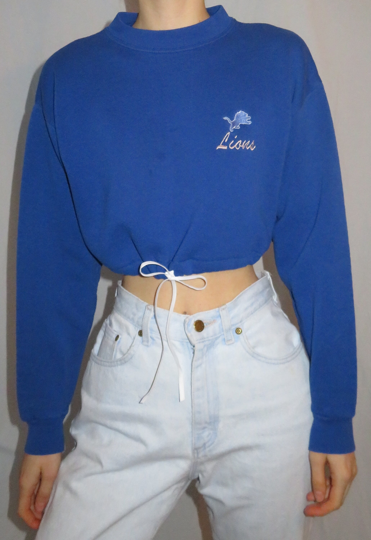 new style d8310 b1d29 Vintage Detroit Lions Sweatshirt