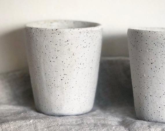 8oz / 5oz beaker in Eggshell White