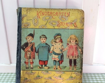 Kindergarten Stories Book