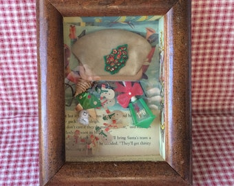 Fun Bag Christmas Shadowbox