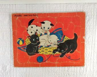 Vintage Furry Puzzle