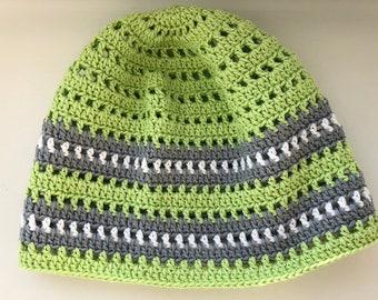 Häkeln Sie Beanie Beanie Junge Junge Mütze Grüne Junge Hut Etsy