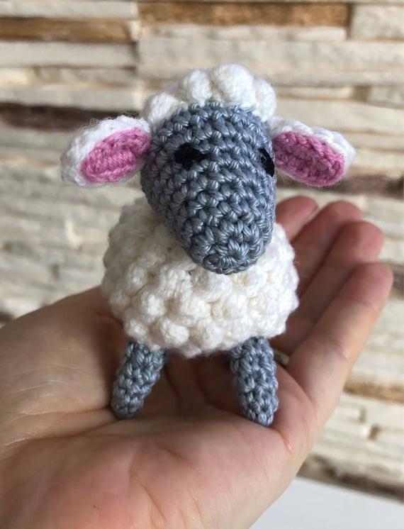 Plüschtier Schaf Häkeln Amigurumi Schafe Schafe Stofftier Etsy