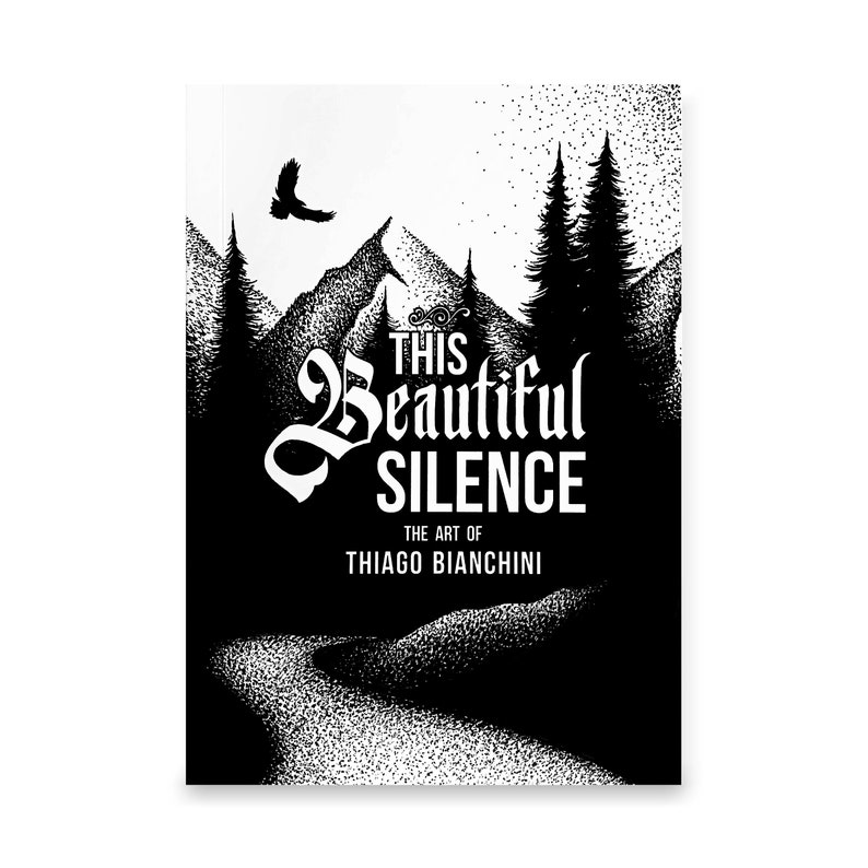 THIS BEAUTIFUL SILENCE Art Book by Thiago Bianchini image 0