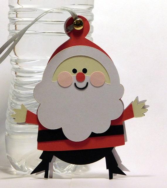 Chubby père Noël cadeau tag-lot de 4  299d02ea443