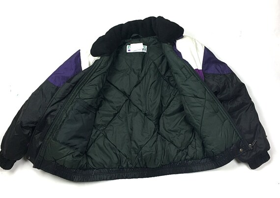 multiple colors shades of discount shop VTG Ski-Doo Bombardier Veste Eagle River Jacket Purple Black Rotax Women's M