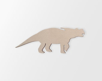 Dinosaur Baby Shower Cutout , Unfinished and Available from 2 to 42 Inches Wide