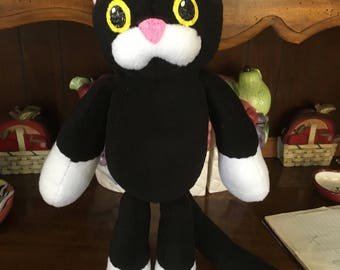 Corpse Party Inspired- Cursed Black Cat Plush